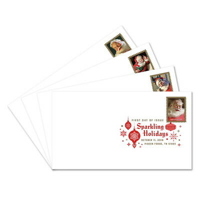 USPS New Sparkling Holidays Digital Color Postmark (set of 4)