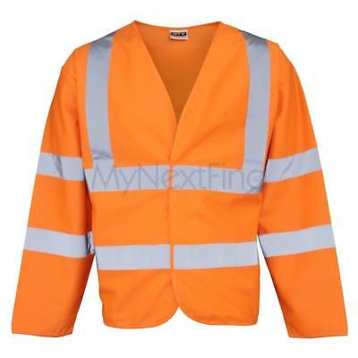 RTY High Visibility High-Visibility Motorway Coat