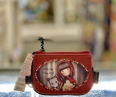d9dc4d8e0df Santoro Gorjuss Every Little Red Riding Hood Purse With Keyring - With Free  P P