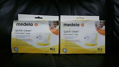 Medela Quick Clean Micro-Steam Sterilisation Bags x5 (2 packs)