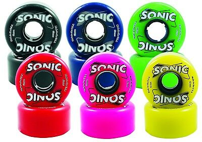 Sonic Outdoor Roller Skate Wheels 85A 62Mm X 32Mm Set Of 8
