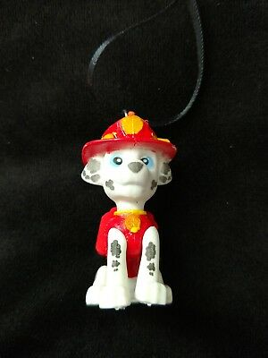 Puppy Dogs Pals Chief Dalmatian Fireman Christmas Ornament