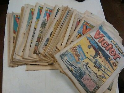 42 Victor comics , 1980s children's army books