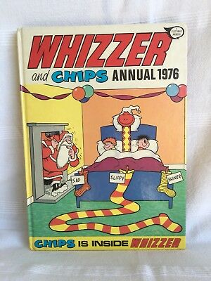 WHIZZER AND CHIPS 1976 ANNUAL unclipped