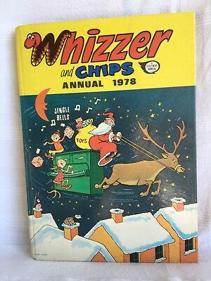 Whizzer And Chips 1978 Annual Mike Lacy UNCLIPPED