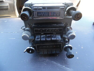 3 radios am fm 70 s delco  and after market 8 track am/fm parts