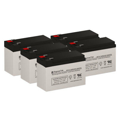 8 Pack Brand Product Mighty Max Battery 12V 7.2AH SLA Replacement Battery for Liebert PS1440RT2-120
