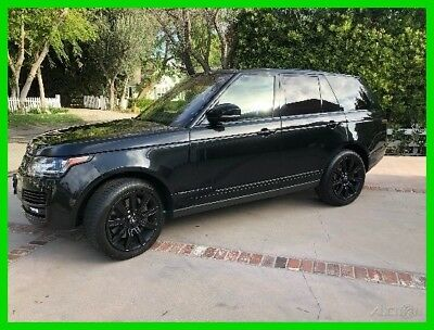 2015 Land Rover Range Rover 5.0L V8 Supercharged 2015 Land Rover Range Rover Supercharged SUV,5.0L V8,4WD,73000 Miles,8-Spd Auto