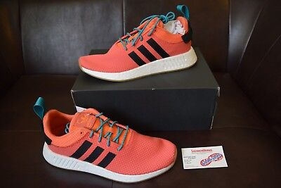 df738a281e396 CQ3081  NEW MEN S Adidas Originals Nmd R2 Summer Trace Orange Gum ...