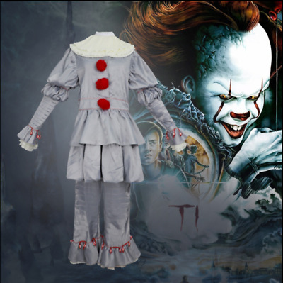 Es Stephen King es 2018 Film Pennywise Cosplay Kostüm Das Clown Outfit Horror