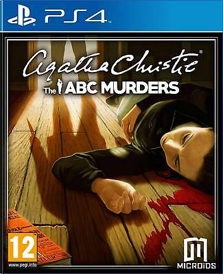 Agatha Christie The ABC Murders PS4 Game | BRAND NEW & SEALED | FAST FREE POST