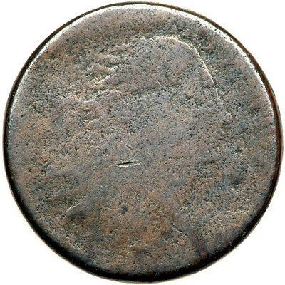 1793 Wreath Cent Sheldon 10, Rarity 4 only 76-200 in existence