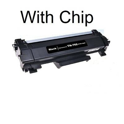 TN 760 High Yield Toner With Chip replace For Brother DCP-L2550 HL-L2350 TN730