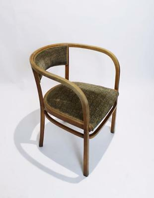 Vintage Viennese Secessionist Thonet Bentwood Armchair By Otto Wagner . 1906