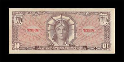 1965 Mpc United States $10 **series 641** (( Ef ))