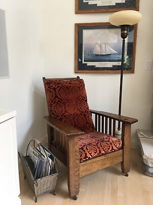 Antique Mission Arts & Crafts Morris Chair