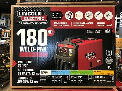 Lincoln Electric Weld Pak 180 HD - BRAND NEW