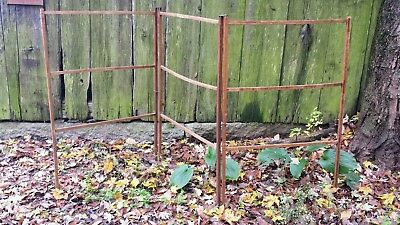Vintage Antique Primitive Folding Wood Herb Drying Candle Tobacco Textile Rack