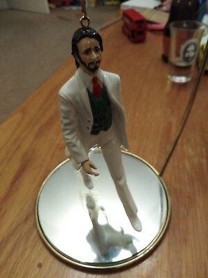 Porcelain Ringo Starr Statue Figurine With Stand Beatles