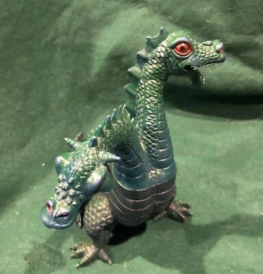 1984 Imperial Dragons Knights Daggers Fantasy Figure Two Headed Dragon HONG KONG