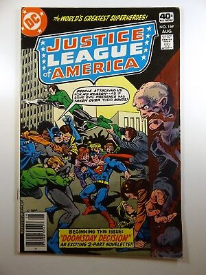 """Justice League of America #169 """"Doomsday Decision!"""" Sharp VF- Condition!!"""
