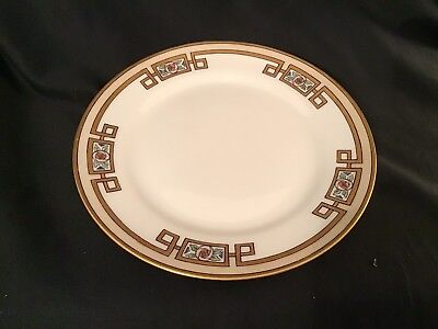 "Nippon Hand Painted 8"" Plate Greek Design"