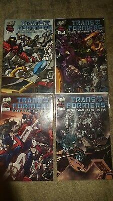 Transformers More than meets the eye 1-2-7-8 profile comics