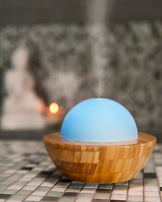 Made by Zen SKYE Aroma Diffuser - Aromatherapy, Mood Colour Changing Light + Oil