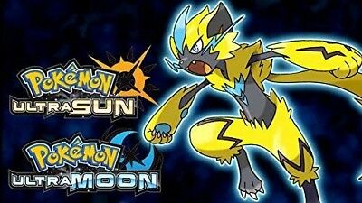 DLC EXCLUSIVE Mythical Pokemon Zeraora Event Code UK / EU