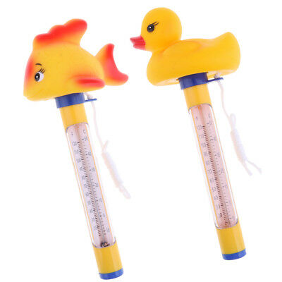 Floating Swimming Pool Hot Tub Thermometer Water Temperature Tester 2x/set