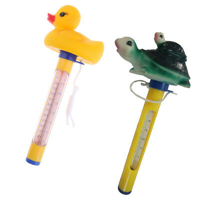 Floating Swimming Pool Hot Tub Thermometer Water Temperature Tester 2pcs