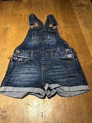 Girls Dungarees - Age 5-6
