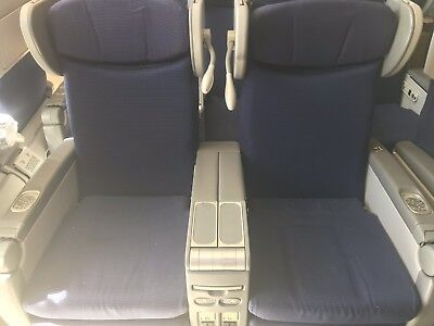 KLM MD-11 First Class Seat Airplane Seat Set