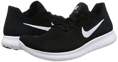 promo code c3990 77ea8 130.00 Nike Mens Free RN Flyknit 2017 Running Shoes 880843 001 Sz 10 Black