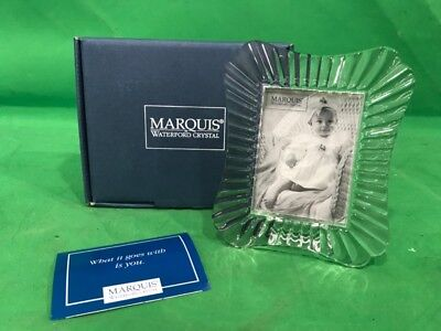 """Waterford Crystal Marquis Easton 2 3/8"""" X 3 1/4"""" Frame New In Box (Ss2025861)"""