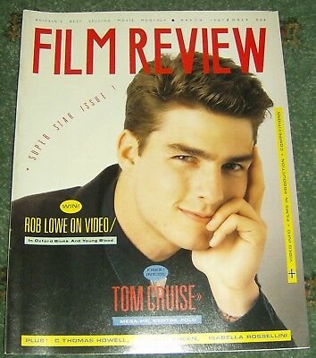 Film Review Magazine - March 1987 - Tom Cruise - Excellent Condition