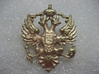 .Russia Russian Army Cap Badge Coat of Arms