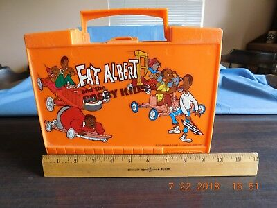 VINTAGE 1973 VERY RARE FAT ALBERT and the Cosby Kids LUNCHBOX without thermos
