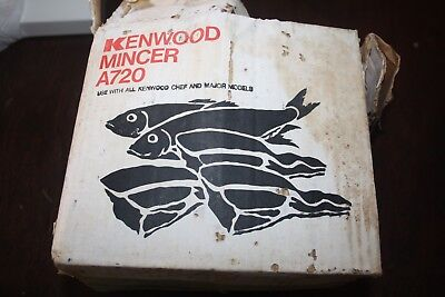 Kenwood Chef  A 720 Meat MIncer Attachment Vintage attachment Complete