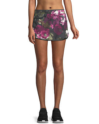 The North Face Reflex Floral-Print Performance Skort, Size XS, MSRP $45
