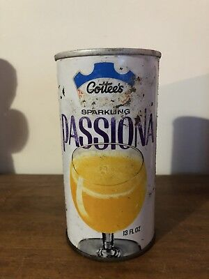 Vintage Cottees Passiona 13fl Oz Metal Can PERTH