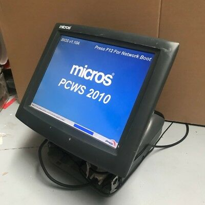 Used Micros Touch Screen POS Terminal Hardware Only
