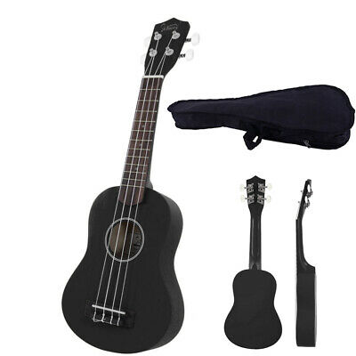 "21"" Soprano Basswood Ukulele  Beginner Adult Student 4 Strings with Gig Bag"