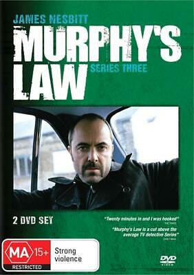 Murphy's Murphys Law Series 3 2 Disc Set New & Sealed Australia All Regions