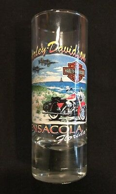Harley Davidson Tall Shot Glass Iron Horse Ranch State College Pa