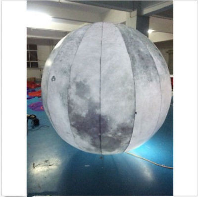 2M Led Lighted Inflatable Moon Ball for Outdoor Promotion U