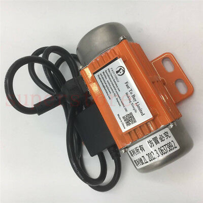 AC Vibration Asynchronous Motor 40w 1PH 110V 220V Vibrating Vibrator 3600RPM CNC