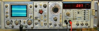Tek TM506 Combo AA501 Distortion Analyzer SC504 80 MHz Scope AF501 AM502