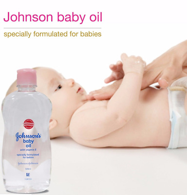 Johnson's Baby Oil With Vitamin- E Specially Formulated For Babies 50ml