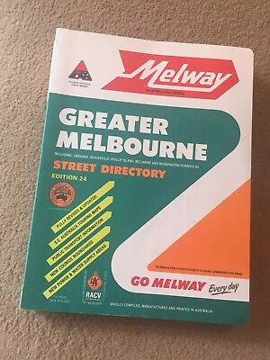 MELWAY STREET DIRECTORY GREATER MELBOURNE EDITION 24 Excellent condition